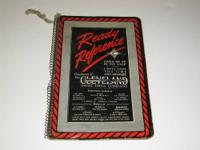 1930s Ready Reference Guide mfg by Cleveland Twist and