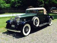 1931 Cadillac 370 Convertible V12 ..Restored ..10 Miles