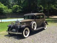 1931 Cadillac V12 Town Sedan ..Model 370A ..Pebble