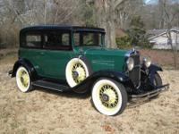 This very nice, rare, 1931 Chevrolet Coach has had a