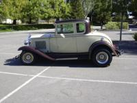 1931 chevy coupe for sale. straight axle front end,