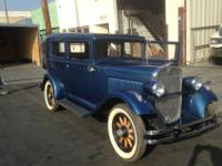 1931 Essex Super Six, this car has been stored in a
