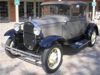 THIS IS AN EXCELLENT MODEL A FIVE WINDOW COUPE.nbsp;