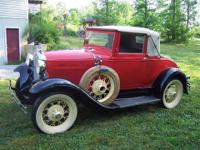 1931 Ford Cabriolet (TN) - $28,900 Slant window