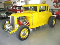 '31 Ford Model A, 5 Window Rumble Seat Coupe with '76