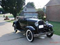 1931 FORD Model A; EXCELLENT TO PERFECT CONDITION;