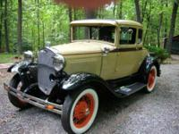 This is a top of the line Sensational Model A Coupe