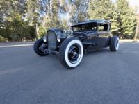 1931 Ford Model A Coupe Hot Rod... All Henry Ford Steel