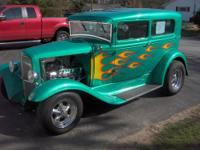 1931 ford model a five window coupe hot rod body and