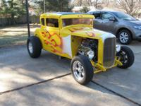 1931 Ford Model A all steel body 5 window coupe 4 1/2
