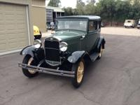 1931 Ford Model A VICTORIA 3 Speed.  For sale my 1931