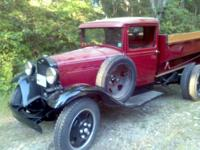 1931 Ford Model AA Truck. Original hydraulic steel dump