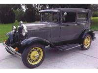 I am offering you a numbers matching 1931 Ford Model A
