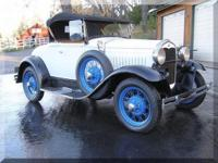 1931 Ford Rumble Seat Roadster Deluxe , 2 owner / All