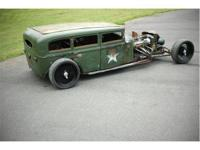 This is a one of a kind Rat Rod that has been VERY WELL
