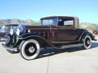 1931 Cadillac 3 Window Coupe 3 Window Coupe  Basic