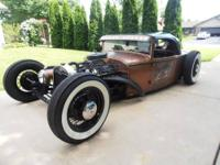 1931 Ford Model A 2 doors Sedan Custom Convertible. 302