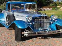 This is a 1931 Rolls Royce replica, special built and
