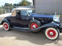 We're pleased to offer this very rare 1932 Cadillac