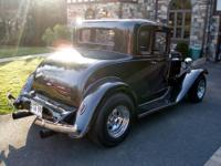 1932 Chevrolet 5 window coupe that has been modernized