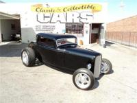 1932 Ford 3-Window Coupe - 350 V8, TH350 automatic,