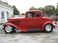 1932 Ford 5 Window Coupe All New All Steel Body &