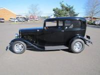 1932 Ford Model 18 Tudor Sedan, initial restored body,