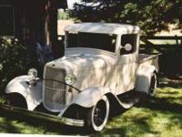 1932 Ford B Antique This Half Ton Closed Cab Pickup is