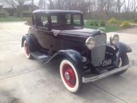 1932 Ford Coupe (IN) - $57,900 Exterior: Black with