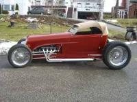 1932 Ford Custom Zipper Track Roadster. Call  This is a