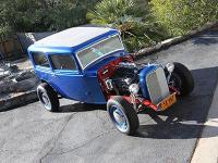 This original 1932 Ford two door sedan was built