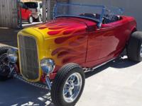 1932 Ford Hi-Boy Convertible ..New Build ..Candy Apple