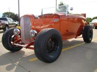 Take a step back in time! Here is a 1932 Ford roadster