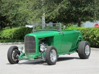 All New! A fiberglass body '32 Ford Highboy roadster