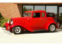 Here we have an all steel, full fendered, 1932 Ford
