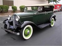 Crevier Classic Cars is pleased offer this 1932 Ford
