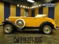 1932 Ford Model A Convertible Replica up for grabs.