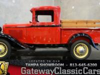 Stock #429-TPA 1932 Ford Model A Pickup  $26,995