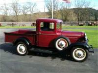 Original 1932 Ford pickup. This truck is the earlier