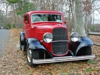 This Henry Ford steel 3 window coupe has a beautiful