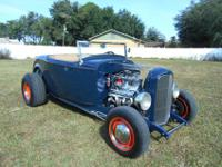 1932 Ford Roadster Highboy Street Rod. Car is titled as