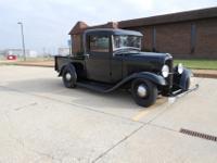 The truck has the original, rust free cab, doors, dash