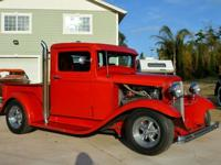 This is a cool old 1932 Ford pickup that you can cruise