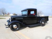 1932 Ford Pickup that has undergone a fresh frame off