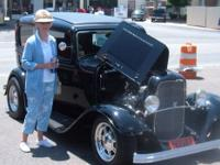 SELL-1932 FORD SEDAN, OWNED 49 YEARS, NOWHERE CAN YOU