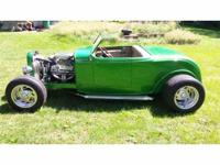 Year : 1932 Make : Ford Model : Roadster Exterior Color