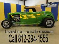 This 1932 Ford Roadster is a gorgeous street rod. The
