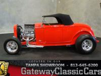 Stock #578-TPA 1932 Ford Roadster  $49,995 Engine: 383