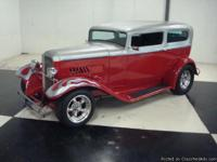 Stk#056 1932 Ford Sedan with matching trailer Exterior:
