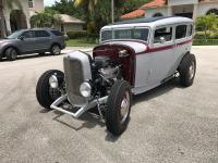 1932 Ford Sedan     Real 32 Ford Steel Old Henry body